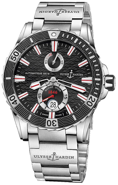 Ulysse Nardin Maxi Marine Diver Stainless Steel - The Luxury Well