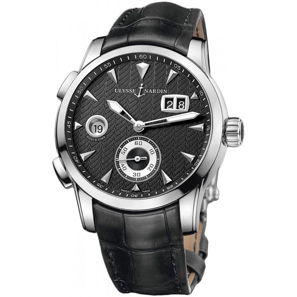 Ulysse Nardin Dual Time Black Dial Automatic - The Luxury Well