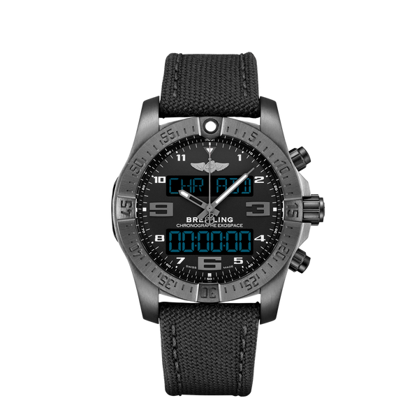 Breitling Exospace B55 Black Titanium - Volcano Black - The Luxury Well