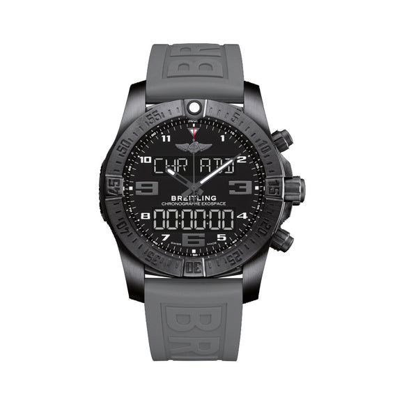 Breitling Exospace B55 Black 46mm Dial - The Luxury Well