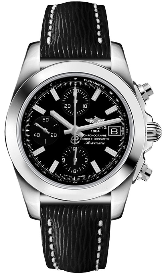 Breitling Chronomat Black 38mm Dial - The Luxury Well