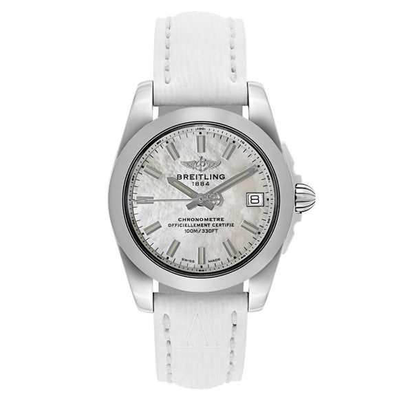 Breitling Galactic White Mother-of-Pearl 36mm Dial