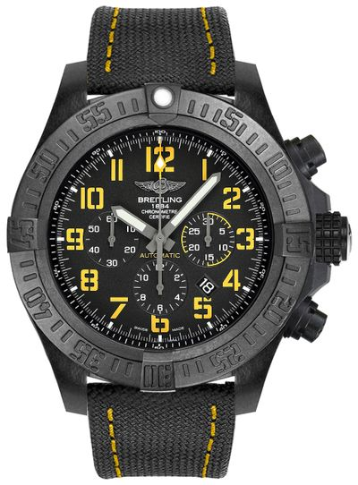 Breitling Avenger Hurricane Black 50mm Dial Automatic - The Luxury Well