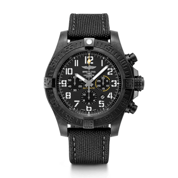 Breitling Avenger Hurricane 12H Breitlight Volcano Black 50mm - The Luxury Well