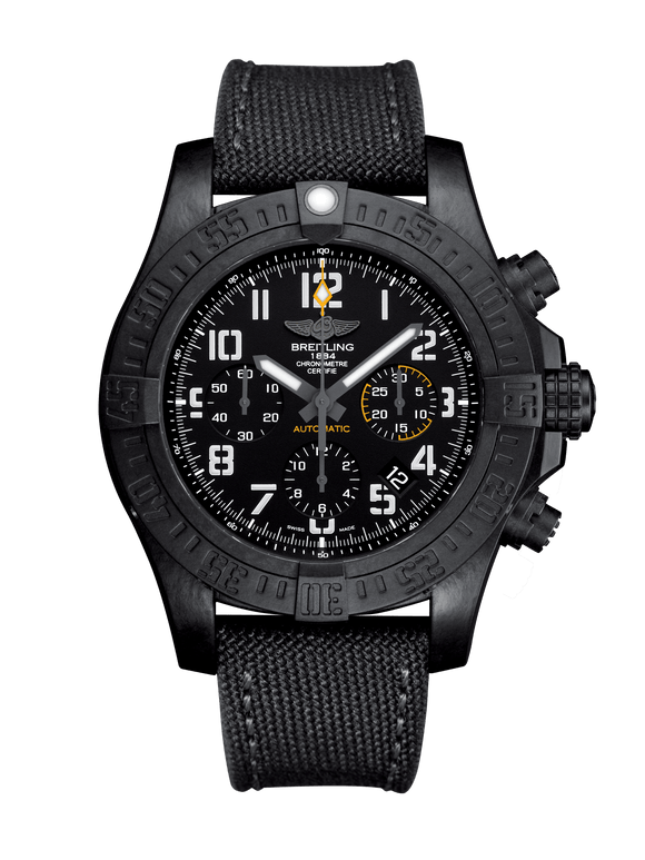 Breitling Avenger Hurricane Automatic Chronograph 45mm Black Dial - The Luxury Well