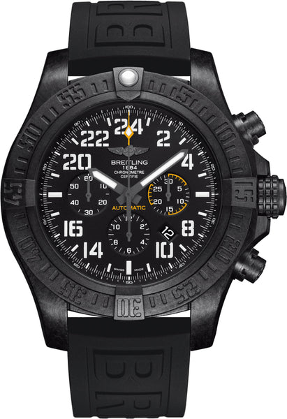 Breitling Avenger Hurricane Black Ultralight Polymer - The Luxury Well