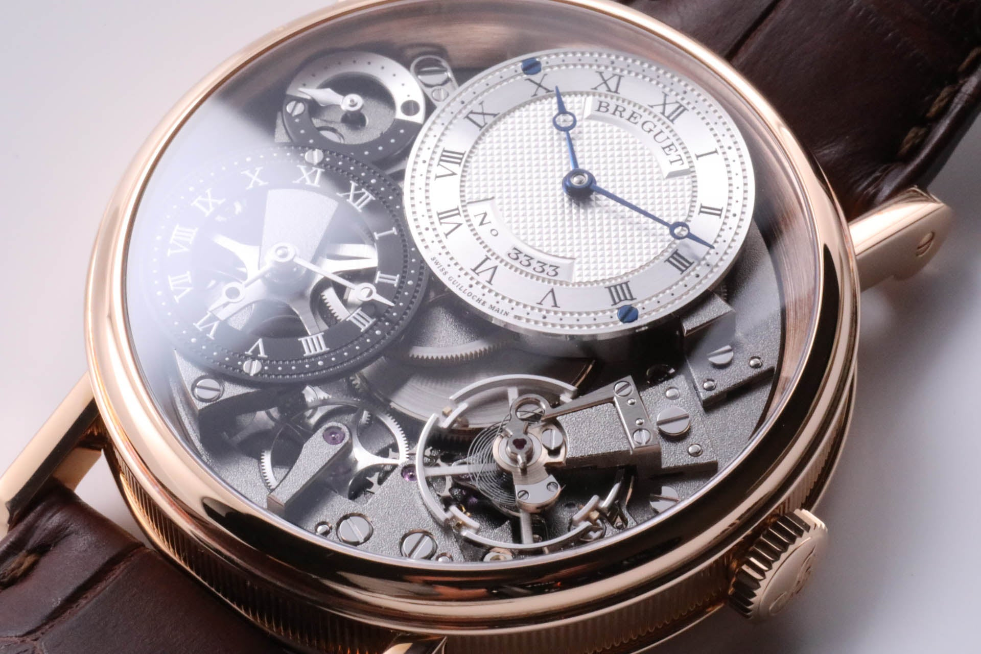 Breguet Tradition GMT Manual Wind Rose Gold