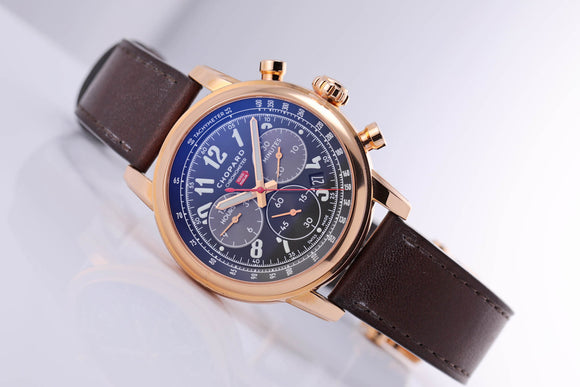Chopard Mille Miglia Automatic Chronograph rose gold black dial - The Luxury Well