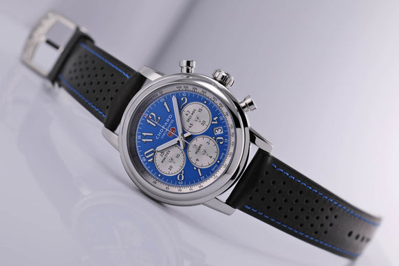 Chopard Mille Miglia Chronograph Automatic Steel Blue Dial - The Luxury Well