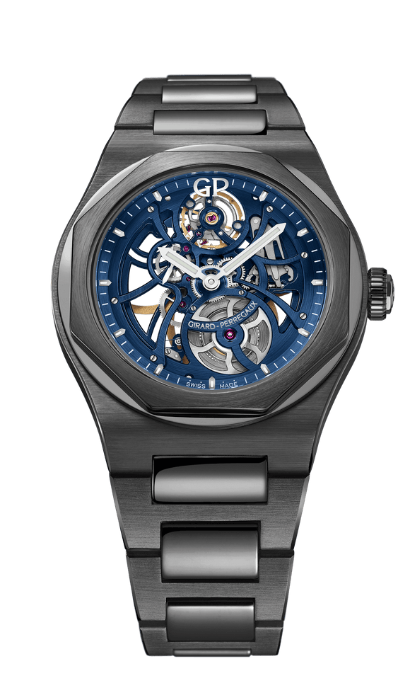 Girard Perregaux Laureato Skeleton Earth to Sky Edition 42mm skeleton dial - The Luxury Well