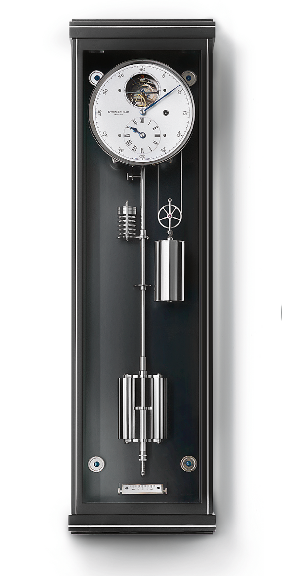 Erwin Sattler Metallica 80 Modern Precision Pendulum Clock - The Luxury Well