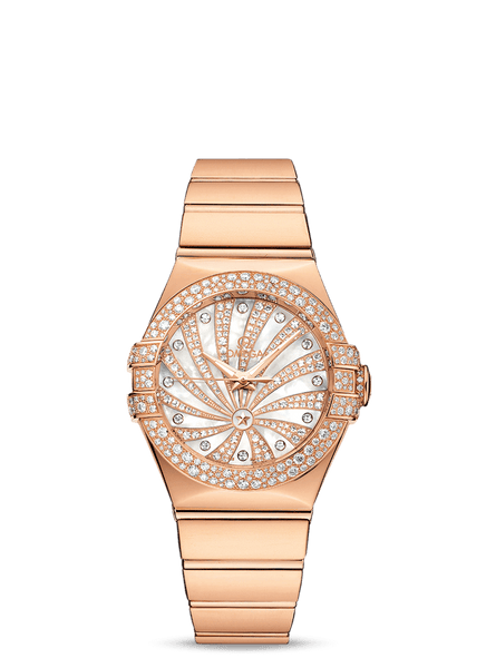 Omega Constellation Co‑Axial 31 mm - The Luxury Well