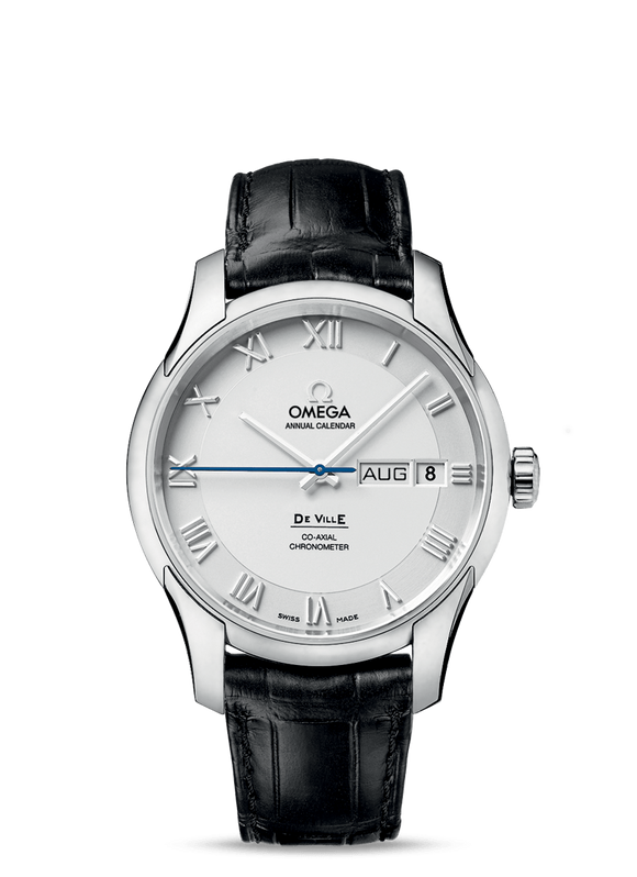 Omega De Ville Co-Axial Annual Calendar - The Luxury Well