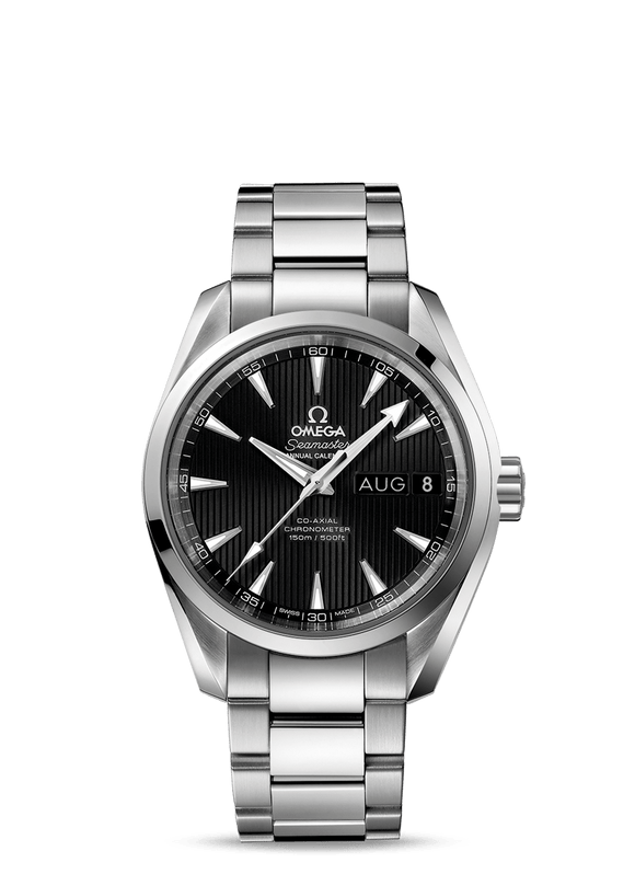 Omega Seamaster Aqua Terra 150M Co‑Axial Annual Calendar 38.5 mm - The Luxury Well