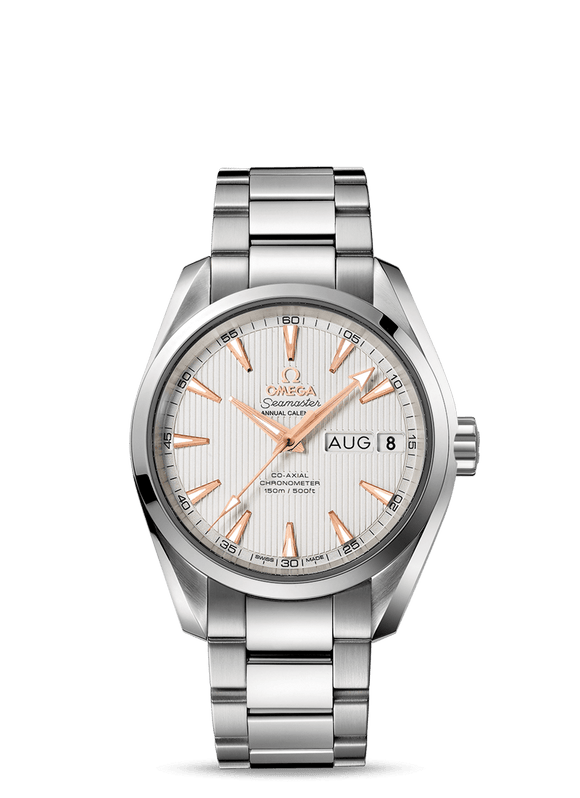 Omega Seamaster Aqua Terra 150M Co‑Axial Annual Calendar 38.5mm - The Luxury Well