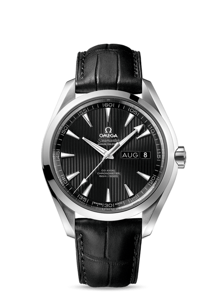 Omega Seamaster Aqua Terra 150M Co‑Axial Annual Calendar 43 mm - The Luxury Well