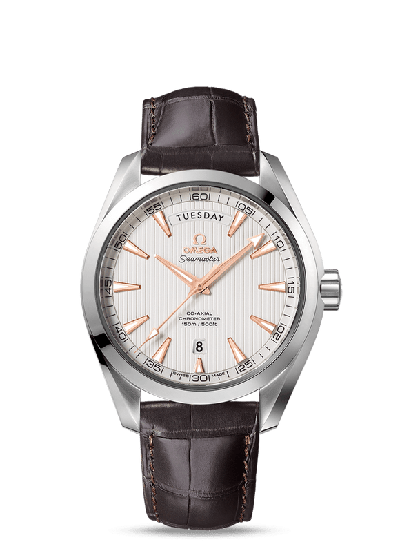 Omega Seamaster Aqua Terra 150M Co‑Axial Day-Date 41.5 mm - The Luxury Well
