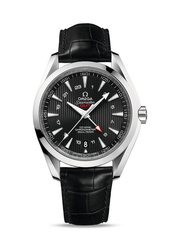 Omega Seamaster Aqua Terra 150M Co-Axial GMT 43 mm - The Luxury Well
