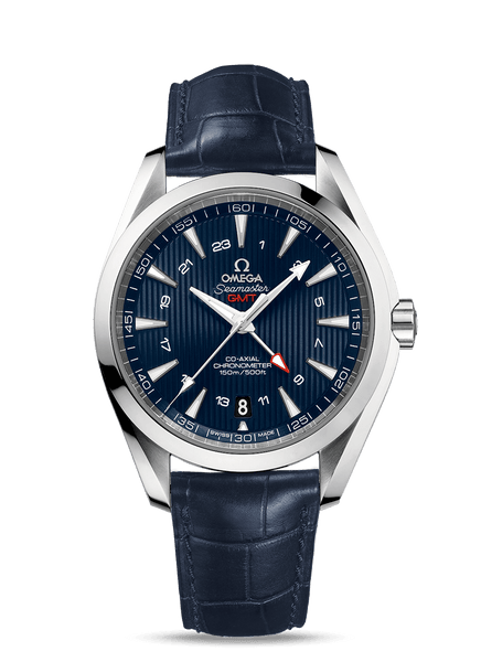 Omega Seamaster Aqua Terra 150M Co‑Axial GMT 43 mm - The Luxury Well