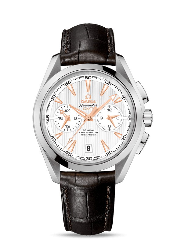 Omega Seamaster Aqua Terra 150M Co‑Axial GMT Chronograph 43 mm - The Luxury Well