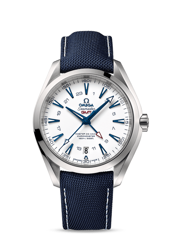 Omega Seamaster Aqua Terra 150M Master Co‑Axial GMT 43 mm - The Luxury Well