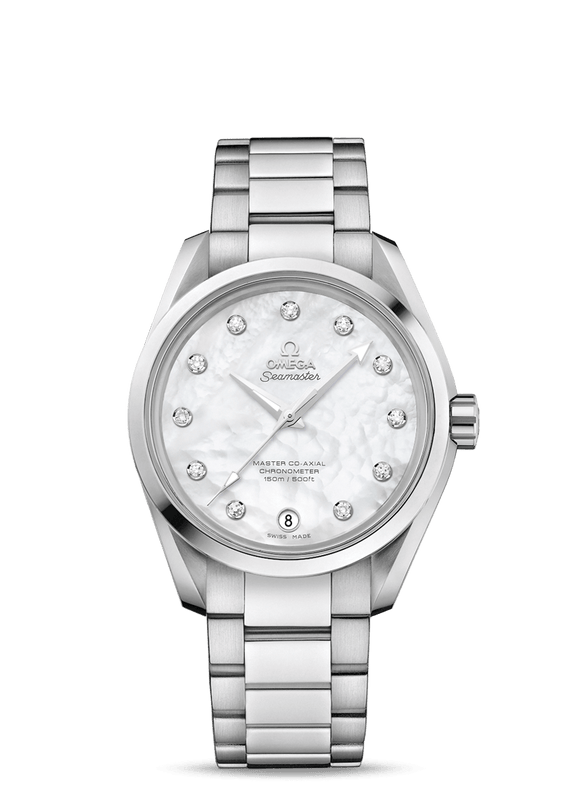 Omega Seamaster Aqua Terra 150M Co‑Axial Ladies' 38.5 mm - The Luxury Well