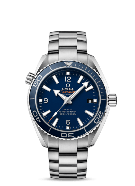 Omega Seamaster Planet Ocean Liquidmetal Blue Titanium 42 - The Luxury Well