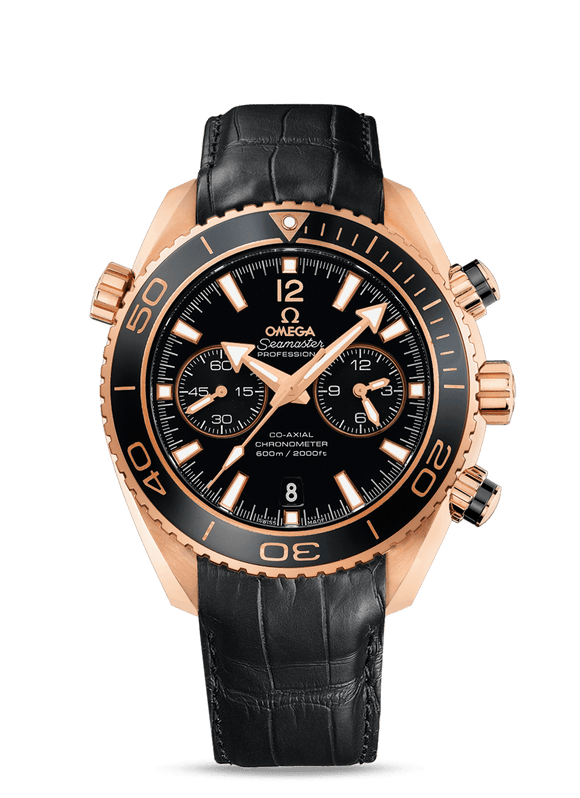 Omega Seamaster Planet Ocean 600m Co-Axial Chronograph 45.5mm - The Luxury Well