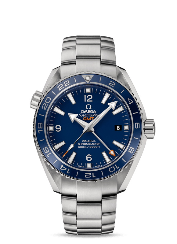Omega Seamaster Planet Ocean 600m Co-Axial GMT 43.5mm - The Luxury Well