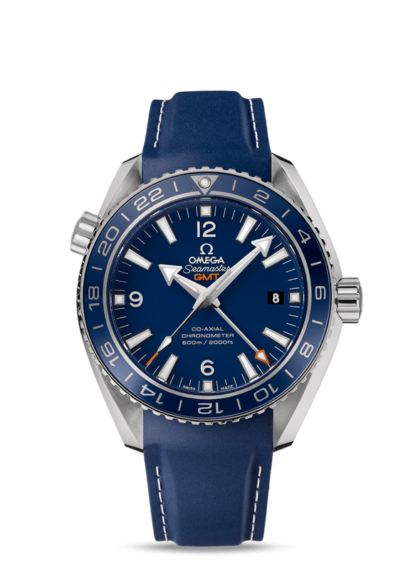 Omega Planet Ocean GMT 600 Liquimetal Titanium Edition - The Luxury Well