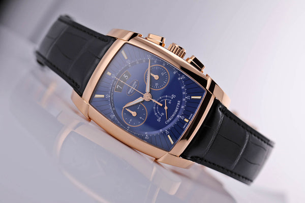 Parmigiani Fleurier KALPA KALPAGRAPHE CHRONOMETRE ROSE GOLD BLUE - The Luxury Well
