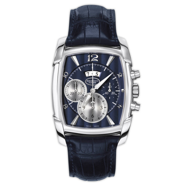 Parmigiani Fleurier Kalpagraphe White Gold Abyss blue dial - The Luxury Well