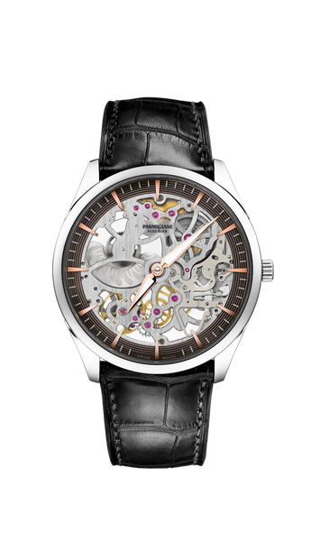 Parmigiani Fleurier Tonda 1950 Squelette 40mm skeleton dial - The Luxury Well