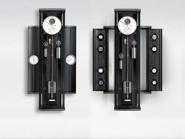 Erwin Sattler Metallica Rotalis Modern Precision Pendulum Clock and Winder System - The Luxury Well