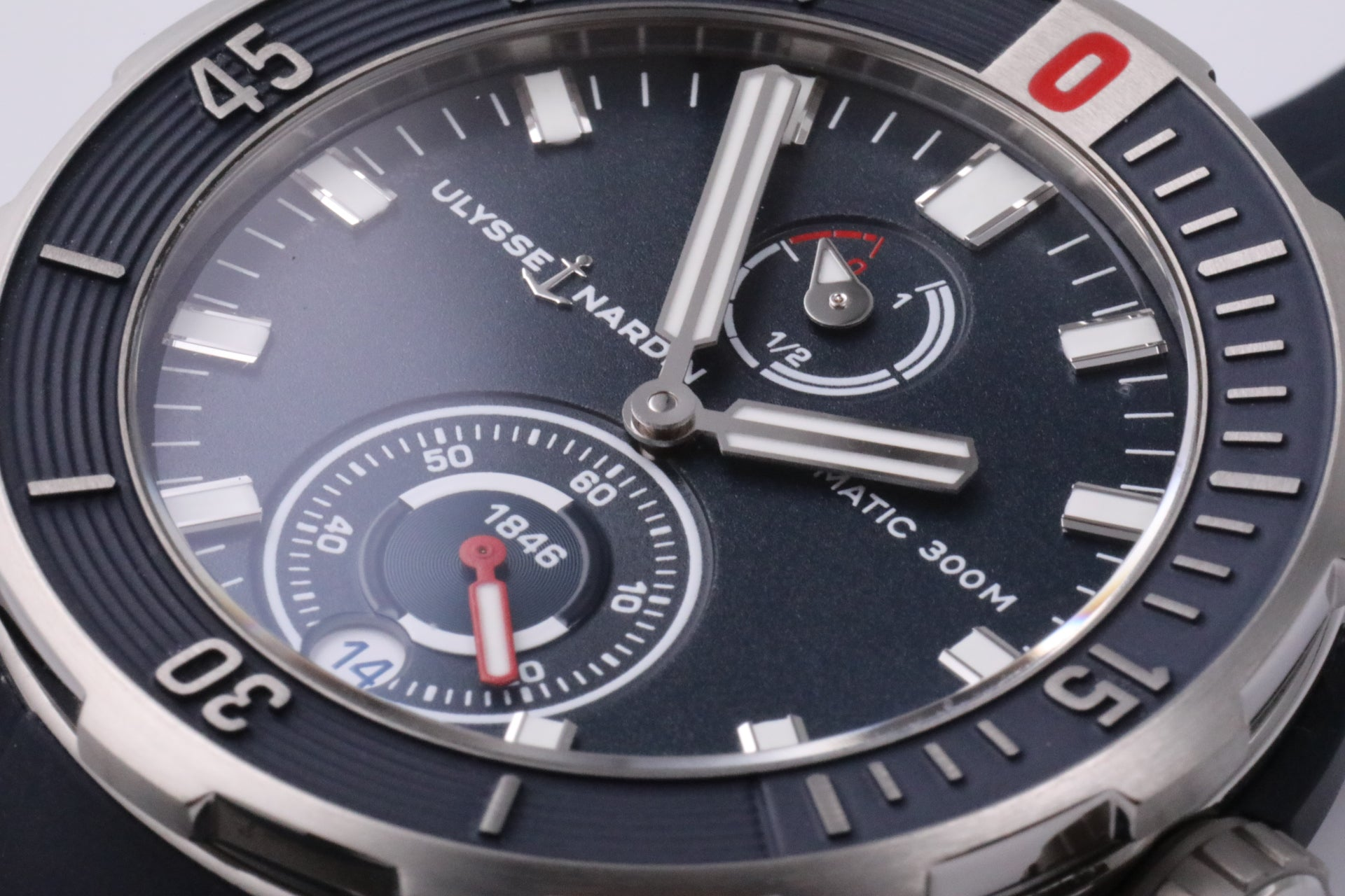 Ulysse Nardin Diver Chronometer 44mm blue dial
