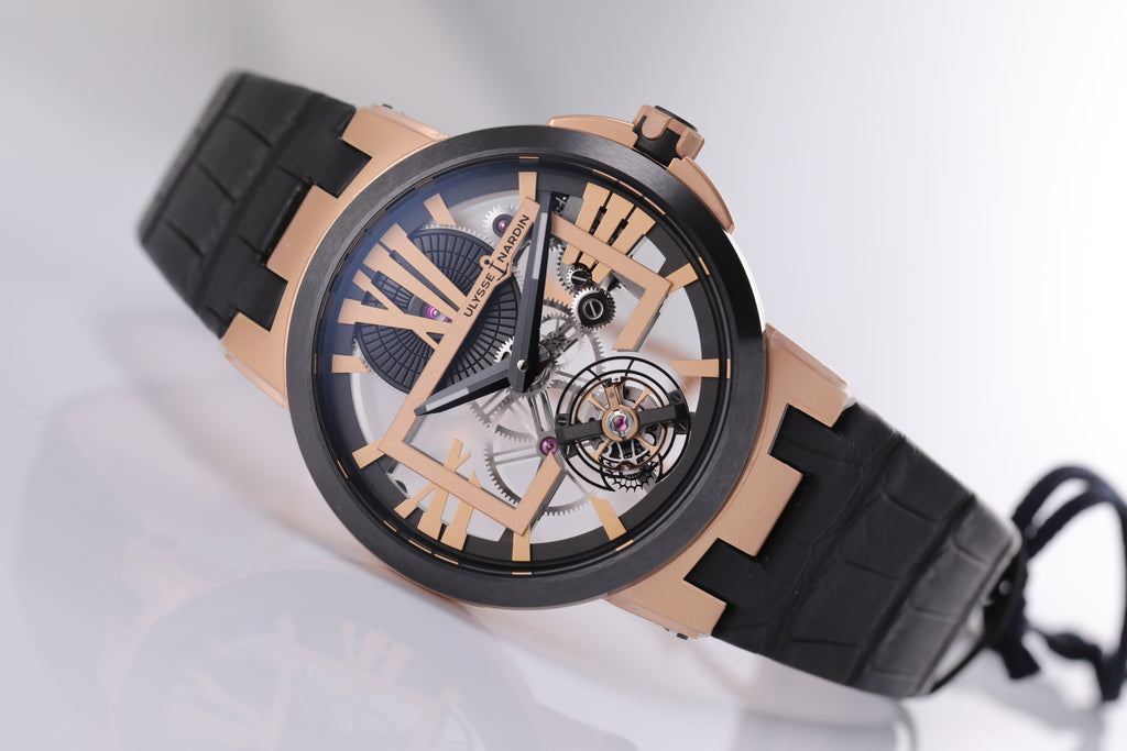 Ulysse Nardin Executive Skeleton Tourbillon 45mm skeleton dial