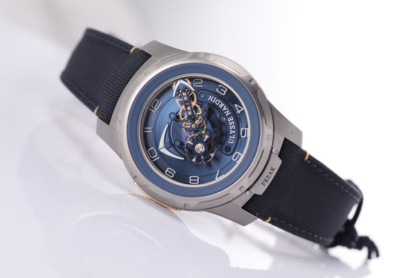 Ulysse Nardin Freak Out 45mm blue dial Ref. 2053-132/03 - The Luxury Well