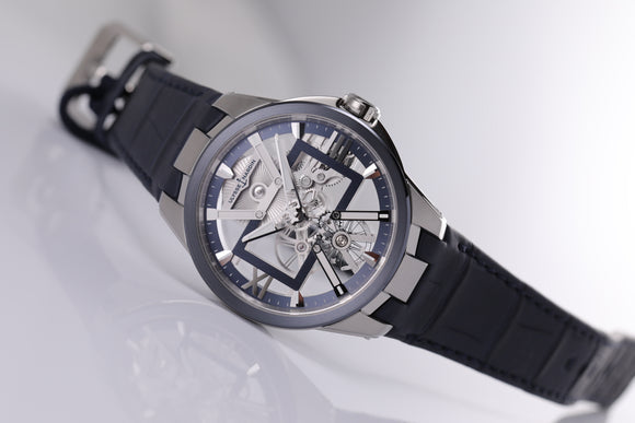 Ulysse Nardin Executive Skeleton X 42mm skeleton dial - The Luxury Well