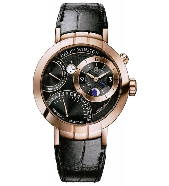 Harry Winston Premier Excenter Perpetual Calendar - The Luxury Well