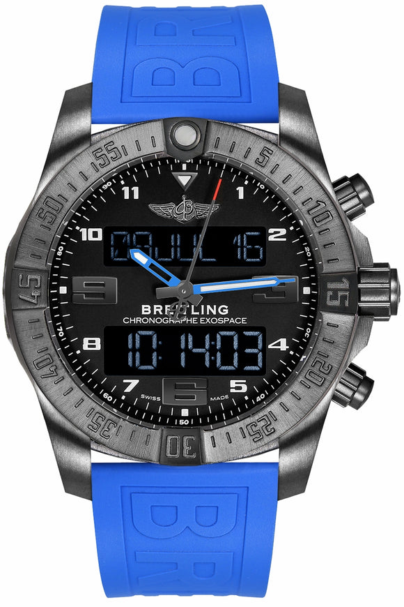 Breitling Exospace B55 Black Steel Titanium - The Luxury Well