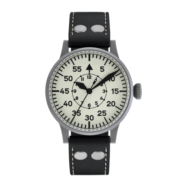Laco Pilot Watch Original WIEN Superluminova Dial 42mm - The Luxury Well