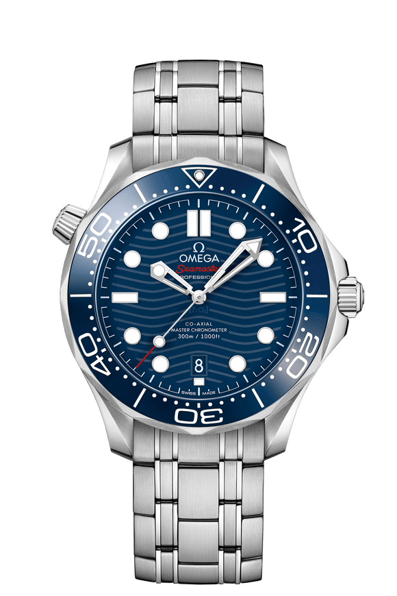 Omega Seamaster Diver 300 M CO‑AXIAL MASTER CHRONOMETER 42 MM Blue - The Luxury Well