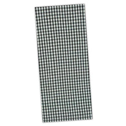 Black Chef Stripe Dishtowel