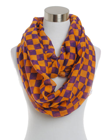 Houndstooth Infinity Scarf