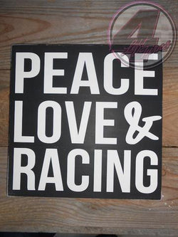 Peace, Love & Racing