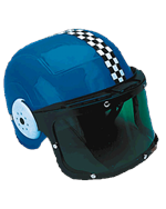 Kid's Racing Helmet with Shield