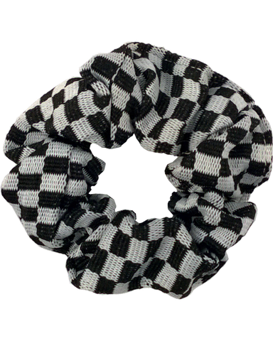 Hair Scrunchie Checkered