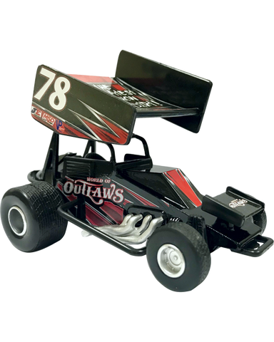 World of Outlaws Pull Back Diecast Car