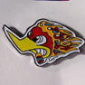 Bird Flames Pin