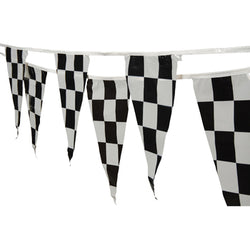 Checkered Pennant Flag Strands